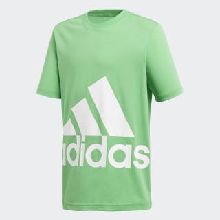 Essentials Big Logo Tee Energy Green / White DJ1755