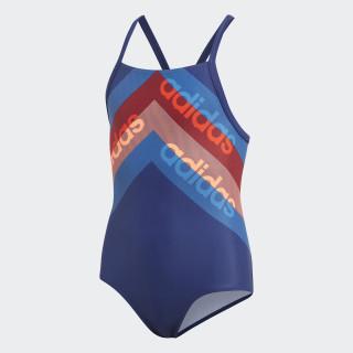 Bañador Lineage Dark Blue / Hi-Res Orange DH2398
