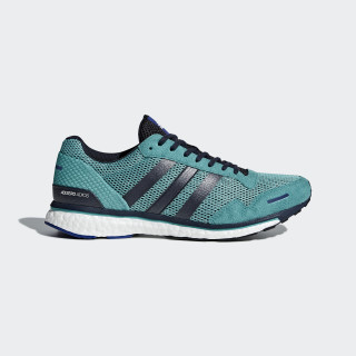 Adizero Adios 3 Shoes Hi-Res Aqua / Legend Ink / Mystery Ink AQ0190