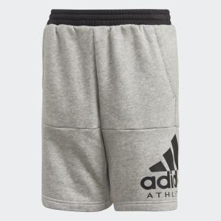 Sport ID Shorts medium grey heather / black DI0176