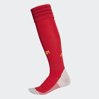 Belgien Heimsocken, 1 Paar Vivid Red/Power Red/Bold Gold BQ4534