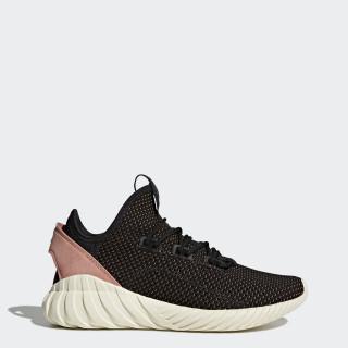 Tubular Doom Sock Primeknit Shoes Core Black / Core Black / Raw Pink BY9335