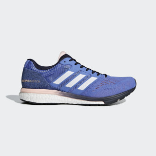 Adizero Boston 7 Schoenen Real Lilac / Ftwr White / Legend Ink BB6499