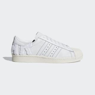 Tênis Superstar 80s CRYSTAL WHITE/CRYSTAL WHITE/OFF WHITE B37995