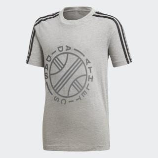 Camiseta ID Graphic Medium Grey Heather DJ1636