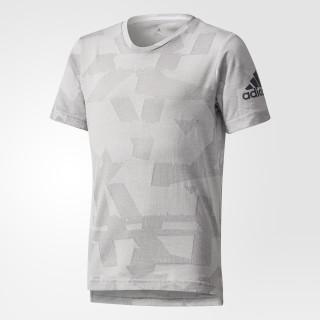 T-shirt de Treino Estilizada Grey Two/Grey Three CD8896