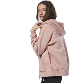 Fleece Zip-Up Hoodie Chalk Pink / Chalk Pink DH1377