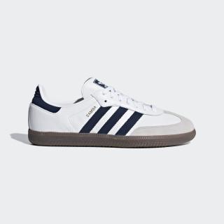 Samba OG sko Ftwr White / Collegiate Navy / Crystal White B75681