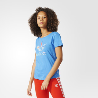 Playera Trefoil SUPER BLUE BK2096