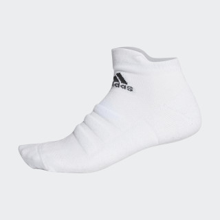 Alphaskin Lichtgewicht Gevoerde CLIMACOOL Enkelsokken White/Black CV7695