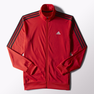 Essentials Track Jacket Scarlet / Black S90421