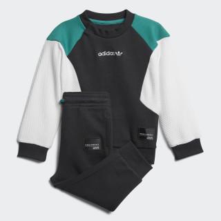 EQT Crew Set Black / White / Sub Green D98793