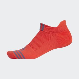 Performance No-Show Socks Hi-Res Red CF4058