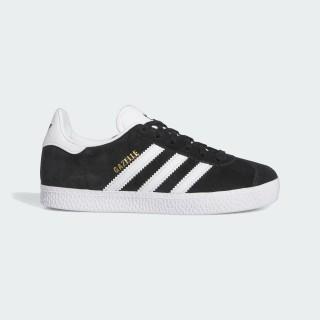 Zapatilla Gazelle Core Black/Footwear White/Gold Metallic BB2507