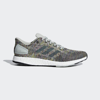 Pureboost DPR Shoes Ash Silver / Raw Green / Shock Yellow CM8324