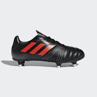 All Blacks SG Junior Boots Core Black/Hi-Res Red/Night Metallic CM7445