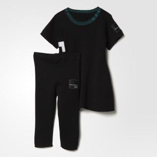 Conjunto EQT Vestido BLACK BQ4364