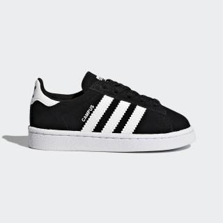 Zapatilla Campus Core Black/Footwear White BY9599