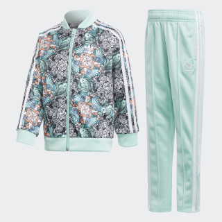 TRACKSUIT L ZOO SST MULTICOLOR/CLEAR MINT/WHITE CLEAR MINT F18/WHITE D98881