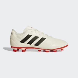 Zapatos de Fútbol NEMEZIZ 18.4 FxG off white/core black/active red D97992
