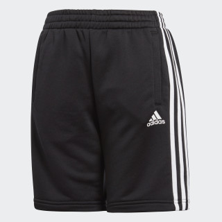 Essentials 3-Stripes Short Black BQ2824