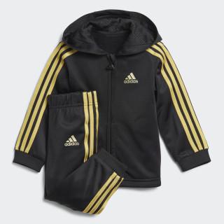 Shiny Hooded joggingsæt Black / Gold Met. DJ1581