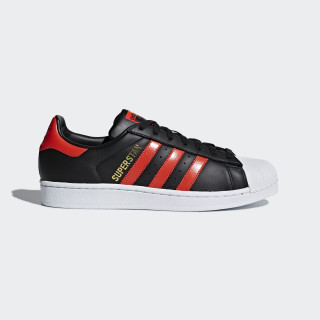 Chaussure Superstar Core Black / Bold Orange / Ftwr White B41994