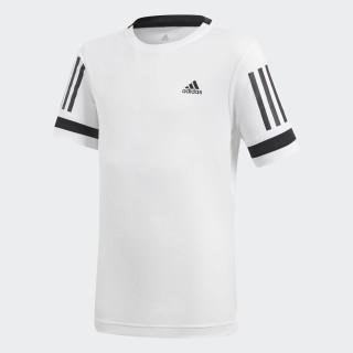 Playera 3 Franjas Club WHITE CV5894