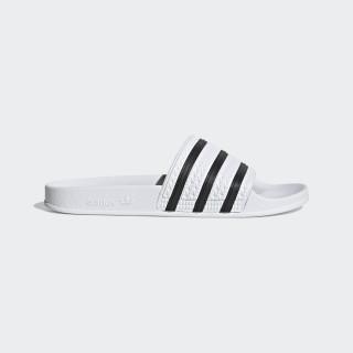 Pantofle adilette White/Core Black/White 280648
