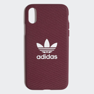Fabric Snap Case iPhone X Maroon / White CK6150