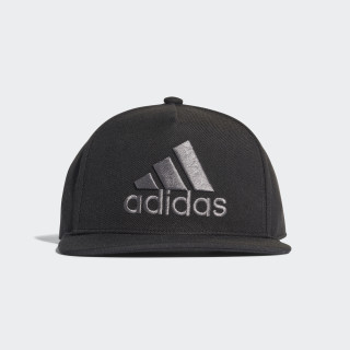 H90 Logo Hat Black / Black / Grey CF4869