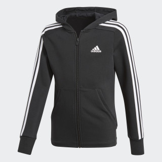 Essentials 3-Stripes Hoodie Black/White/White BP8622