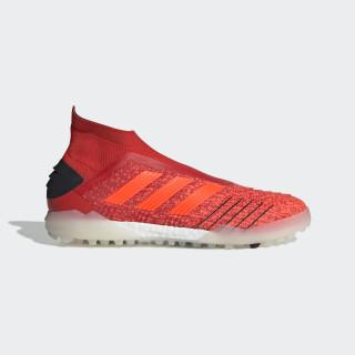 Zapatos de Fútbol PREDATOR 19+ TF Active Red / Solar Red / Core Black F35800