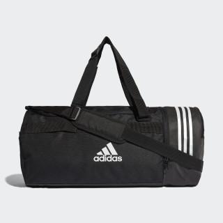 Convertible 3-Stripes Duffel Bag Medium Black/White/White CG1533