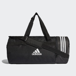 Sac en toile Convertible 3-Stripes Format moyen Black / White / White CG1533