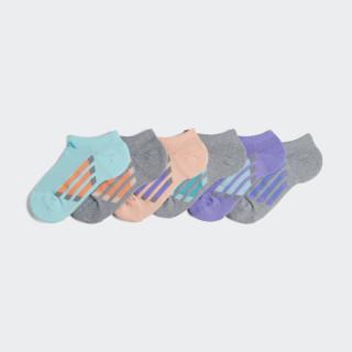 Socquettes invisibles Vertical Stripe (6 paires) Multicolor CJ0583