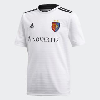 Camiseta segunda equipación FC Basilea White / Black CG0530