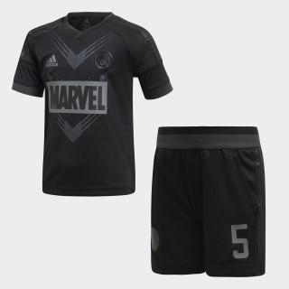 Conjunto Futebol Marvel Black Panther BLACK/CARBON S18 BLACK/CARBON S18 DI0196