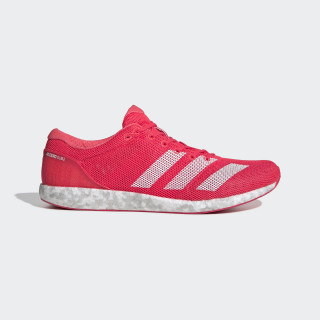 Adizero Sub 2 Shoes Shock Red / Cloud White / Active Pink B37408