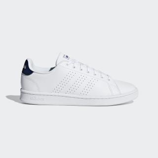 Advantage Shoes Ftwr White / Ftwr White / Dark Blue F36423