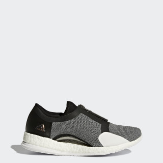 Pure Boost X Trainer Zip Schuh Grey/Core Black/Silver Metallic/Footwear White BY1671