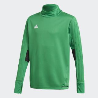 Tiro17 Trainingsshirt Green/Black/White BQ2760
