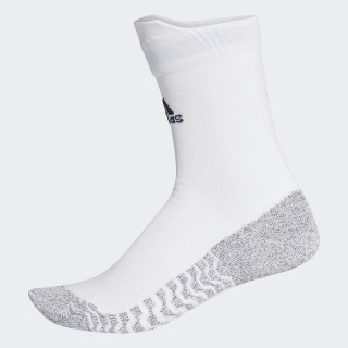 Alphaskin Traxion Ultralight Crew Socks White/Black CG2656