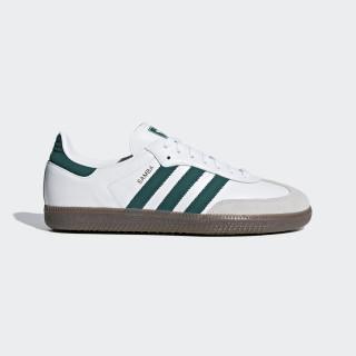 Samba OG sko Ftwr White / Collegiate Green / Crystal White B75680