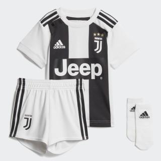 Miniconjunto primera equipación Juventus White/Black CF3492