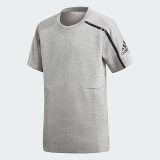 adidas Z.N.E. T-Shirt Medium Grey Heather/Mgh Solid Grey CF6473