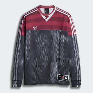 Tričko adidas Originals by AW Photocopy Black / Fox Brown DW7602