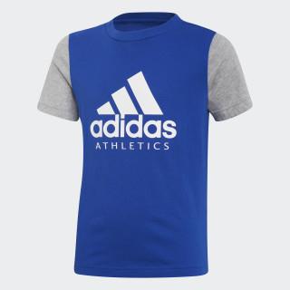 Sport ID Tee collegiate royal / medium grey heather DI0160
