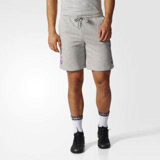 Real Madrid Shorts Medium Grey Heather/Ray Purple AZ5370