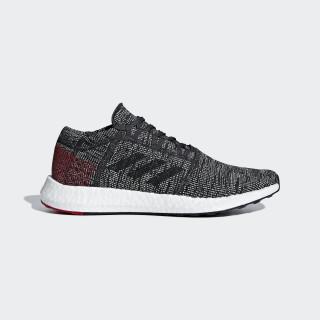 Pureboost Go Shoes Carbon / Core Black / Power Red AH2323